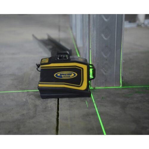 Spectra Laser LT58G Green Beam Self Leveling 3-Plain Cross Line Laser Level