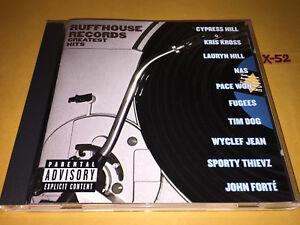 RUFFHOUSE-hits-CD-cypress-hill-LAURYN-HILL-kris-kross-FUGEES-wyclef-jean-tim-dog