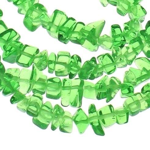 120 verde cuarzo natural de piedras preciosas perlas piedra natural chips 8 mm astilla g298