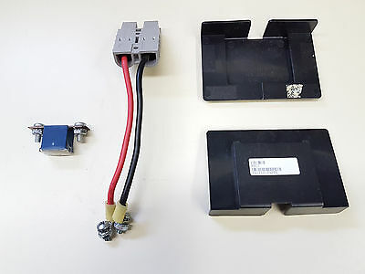 SPS Brand Complete Wire Harness with Terminal Covers and Fuse for APC SmartUPS 1400RMXLNET RBC11 Battery Cartridge 16 Pack