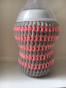 Chrochet Handmade Baby Bottle Cover for  Tommee Tippee 260ml Closer to nature