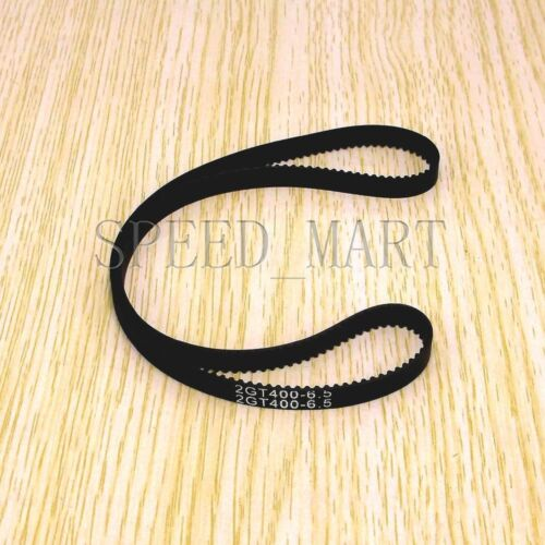 GT2 Timing Belt Annular Loop Cogged Closed Rubber 6mm Width 2mm Pitch 400-2GT