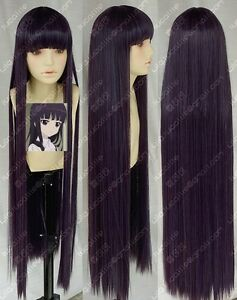 purple wig Dark cosplay