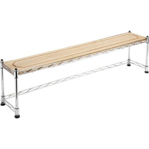 WHITMOR 6066-930 Supreme Sink Shelf Wood Top