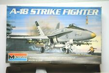 1983 Monogram A-18 Strike Fighter Model Kit 1/48 Scale 5807 8465