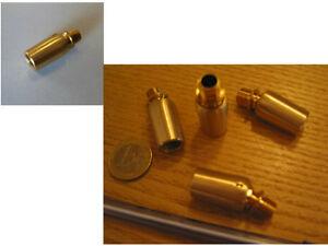 4x écrous laiton ANCIEN PAS DES BECS 10,85 x 1,33 EP2mm POUR ANCIEN FILETAGE DE