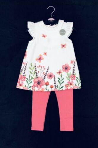 floral tunic top /& leggings set 2-3 years New Girls summer outfit