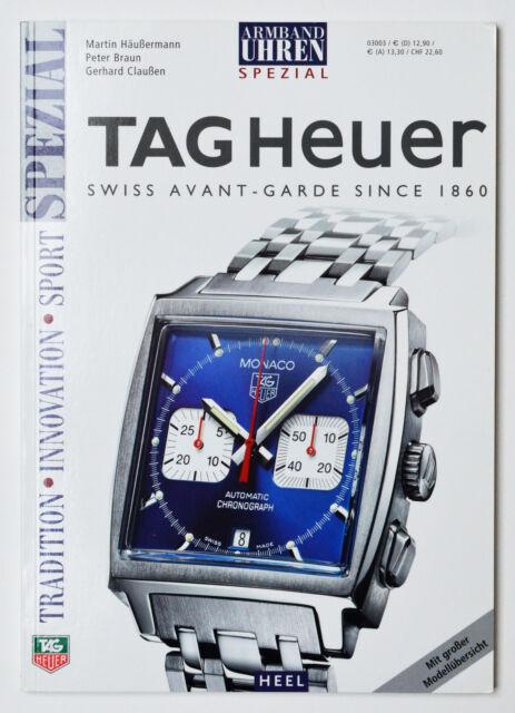 Tag Heuer Armbanduhren Spezial M. Häußermann Heel 2003 Uhrenkatalog Katalog