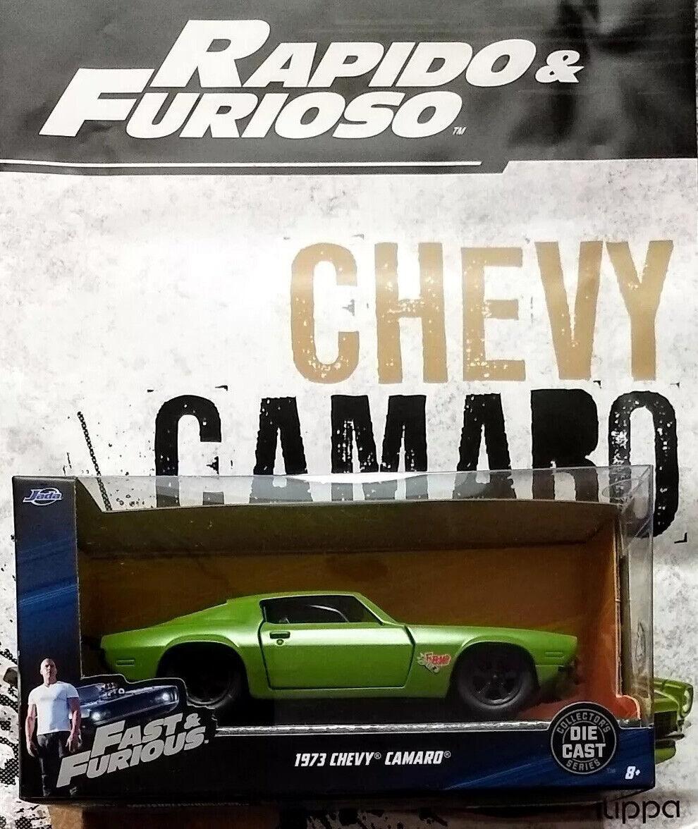 1973 CHEVY CAMARO - FAST & FURIOUS - RAPIDO Y FURIOSO  35 La Nacion SilberINA