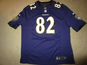 half off e8cf1 348af Details about Torrey Smith #82 Baltimore Ravens NFL Nike On Field Jersey XL