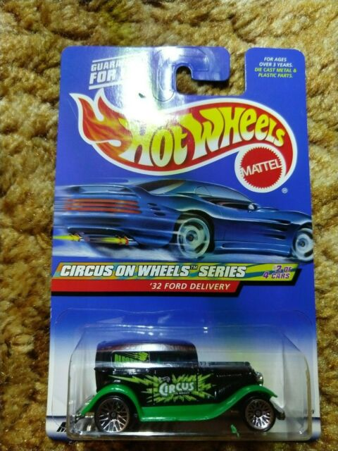 Hot Wheels 32 Ford Delivery 2000 Circus on Wheels Series Painted Base Mattel