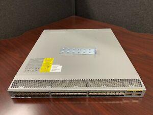 Cisco-N3K-C3064PQ-10GX-Nexus-3064-48-Port-SFP-10Gb-4x-QSFP-W-EARS-NO-POWER