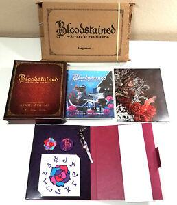 Bloodstained-Ritual-of-the-Night-Alchemist-039-s-Treasure-Kickstarter-Case-CD-Goods