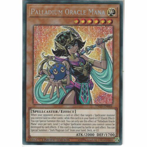 TN19-EN004 Palladium Oracle ManaLimited Edition YuGiOh Prismatic Secret Rare