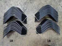 Full Set Of Tiller Tines For John Deere 660 Tiller Pt8444 & Pt8445 18 Each Lh&rh