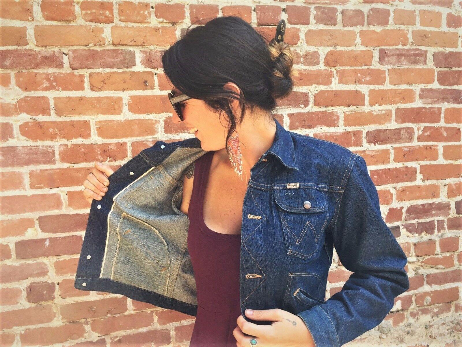 Rare Vintage Wrangler Denim Jacket - 50's/60's - … - image 5