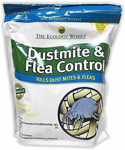 Dust Mite and Flea Control 2 lbs for Carpet /& Upholstery The Ecology Works