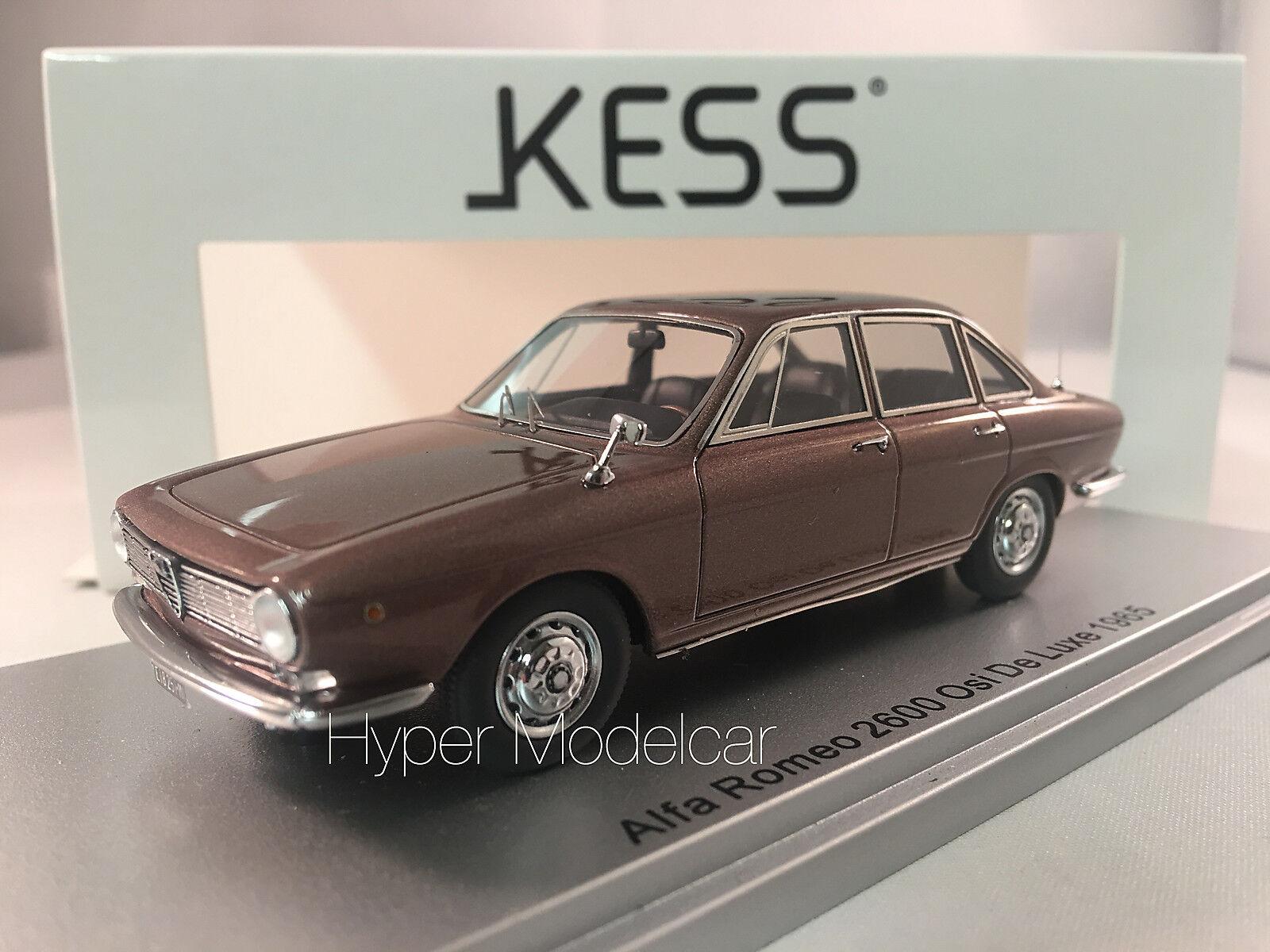 KESS MODEL 1 43 Alfa Romeo Osi De Luxe 1965 marron  Met. Art. KE43000251
