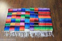 Medium Mexican Serape Blanket Sarape Throw