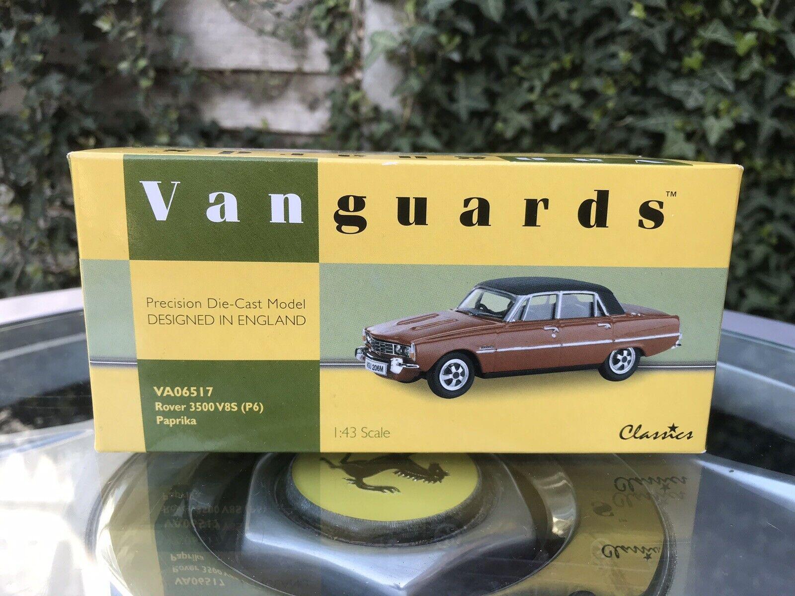 Vanguards ROVER 3500 V8S (P6) Paprika 1 43 En parfait état, dans sa boîte LTD ED VA06517