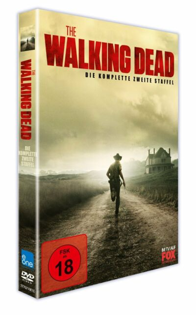 DVD THE WALKING DEAD Komplette 2.Staffel UNCUT  NEU  OVP  DVD