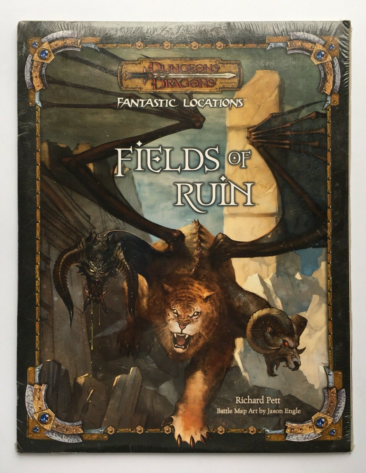 Fantastic Locations FIELDS OF RUIN Dungeons & Dragons NEW SEALED D&D 3E d20 WotC