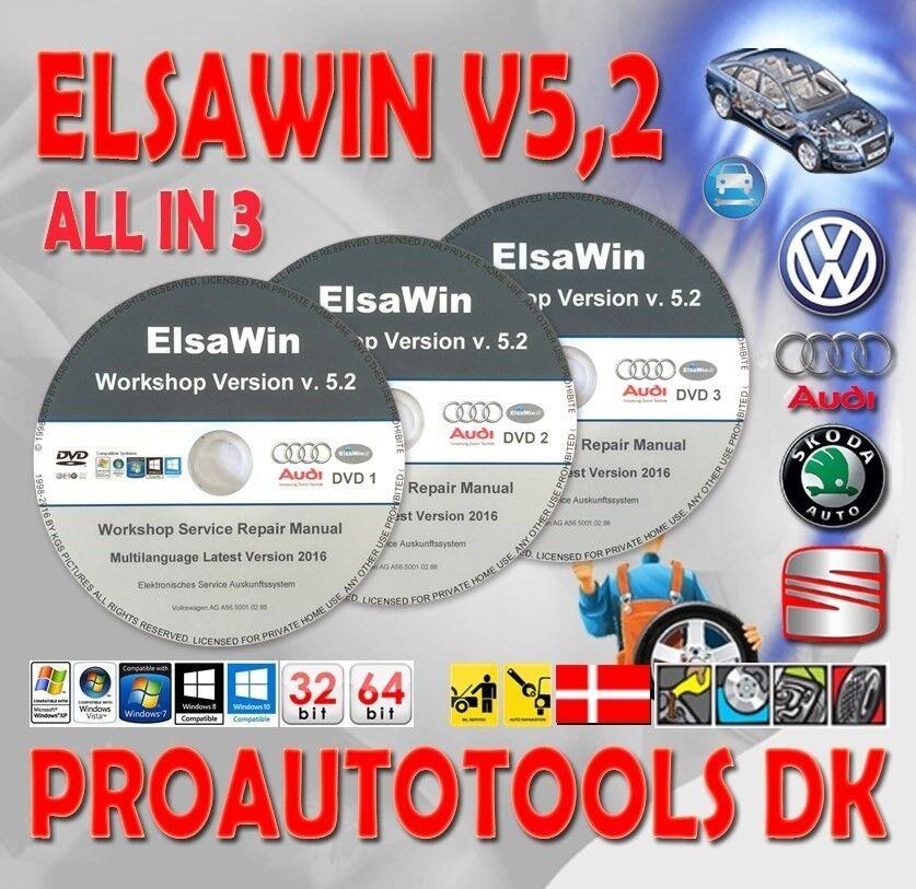Audi, Reparation Manual Elsawin 5.20 Service