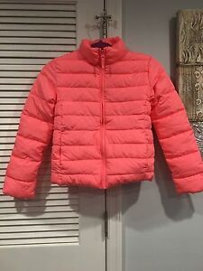 The Childrens Place Girls Big Solid Puffer