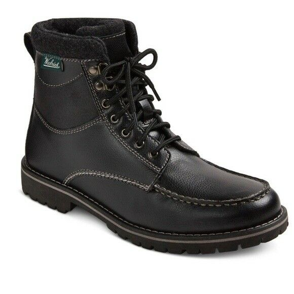 NEW Woolrich Brushman Java Tall Black Utility Boots - RETAILS  99