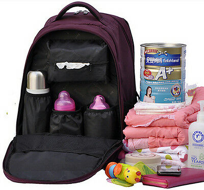 Safe Baby Diaper Nappy Changing Bag Tote Womens mens Backpack Mummy Travel bags