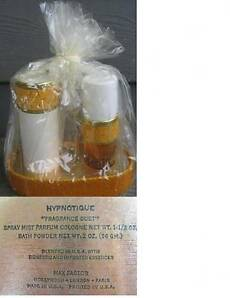 Max Factor Hyponotique Fragrance Duo Gift Set - Cologne & Bath Powder