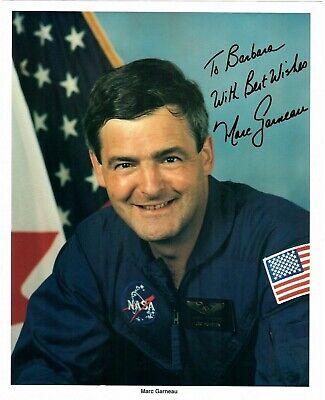 Astronaut Marc Garneau Signed NASA Photograph | eBay