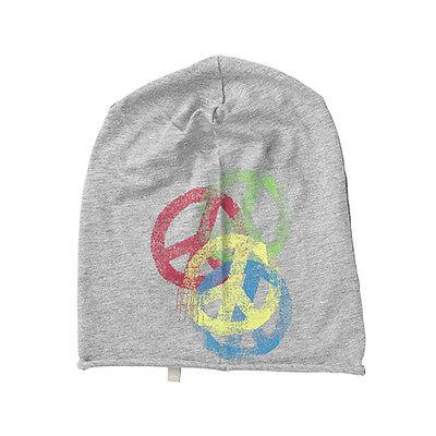 (c551) Lievi Freaky Testa Berretto Rolling Jersey Beanie Con Peace E Logo Stampato- Vendita Calda Di Prodotti