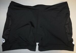 Womens-SUGOI-Blast-Tri-Compression-Padded-Cycling-Bike-Shorts-XL-Black-21067F