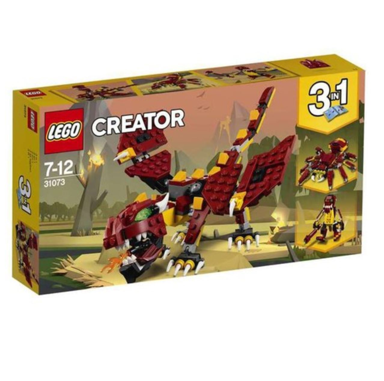 [LEGO] CREATOR Mythical Creatures 31073 2018 Version Free Shipping