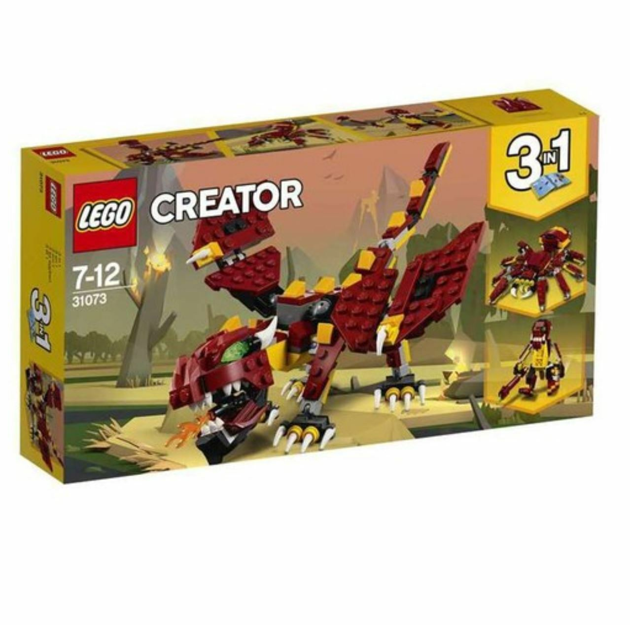 CREATOR Mythical Creatures 31073 2018 Version Free Shipping