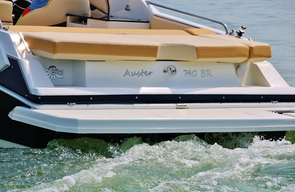 Auster 740 BR, Motorbåd, årg. 2019