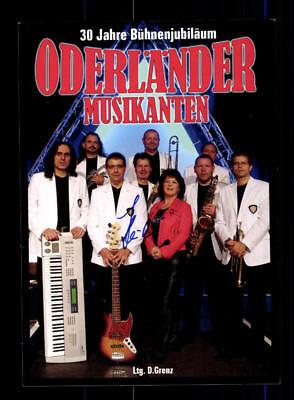 Oderländer Musikanten Autogrammkarte Original Signiert ## Bc 112505 Reisen Sammeln & Seltenes