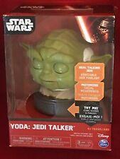 Star Wars Yoda Jedi Talker Real Talking Jedi Facial mouvements 4 Z1 Ans Nouveau