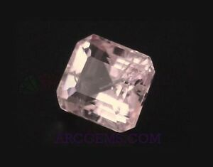 Pink-Tourmaline-Octagon-1-48ct-SI-7x6mm-Loose-Natural-Gemstone-Afghanistan