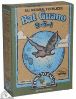 Down To Earth Bat Guano High Nitrogen 9-3-1 Natural Fertilizer 2 Lb Organic Use