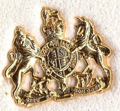 Royal Navy Warrant Officer Regimental Tie Clip  British Navy
