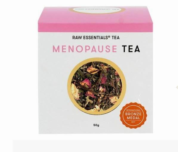 3 x 50g Raw Essentials Tea Menopause Loose Leaf Tea 150g