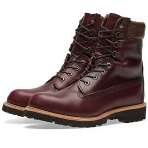 world-wide free shipping pre order new cheap Details about TIMBERLAND BURGUNDY HORWEEN LEATHER 8 INCH BOOT MADE IN USA  A1JXM648 10.5 $500