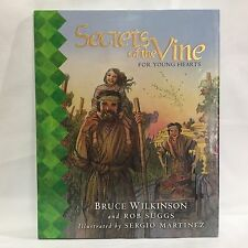 Secrets of the Vine For Young Hearts Wilkinson, Bruce HC DJ Free Shipping