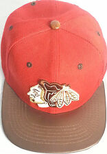 zephyr original Strapback authentic fitted hats baseball cap BLACKHAWKS