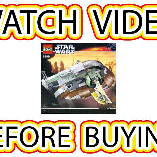 Lego Slave I (2nd édition) Set  6209 Star Wars Star Wars Episode 4 5 6