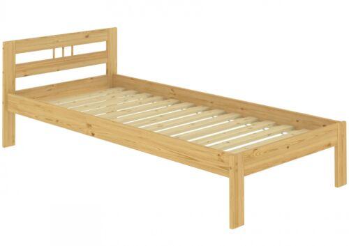 Kinderbett Kurzgröße Futon Bett Kiefer 90x190 Einzelbett Lattenrost 60.64-09-190