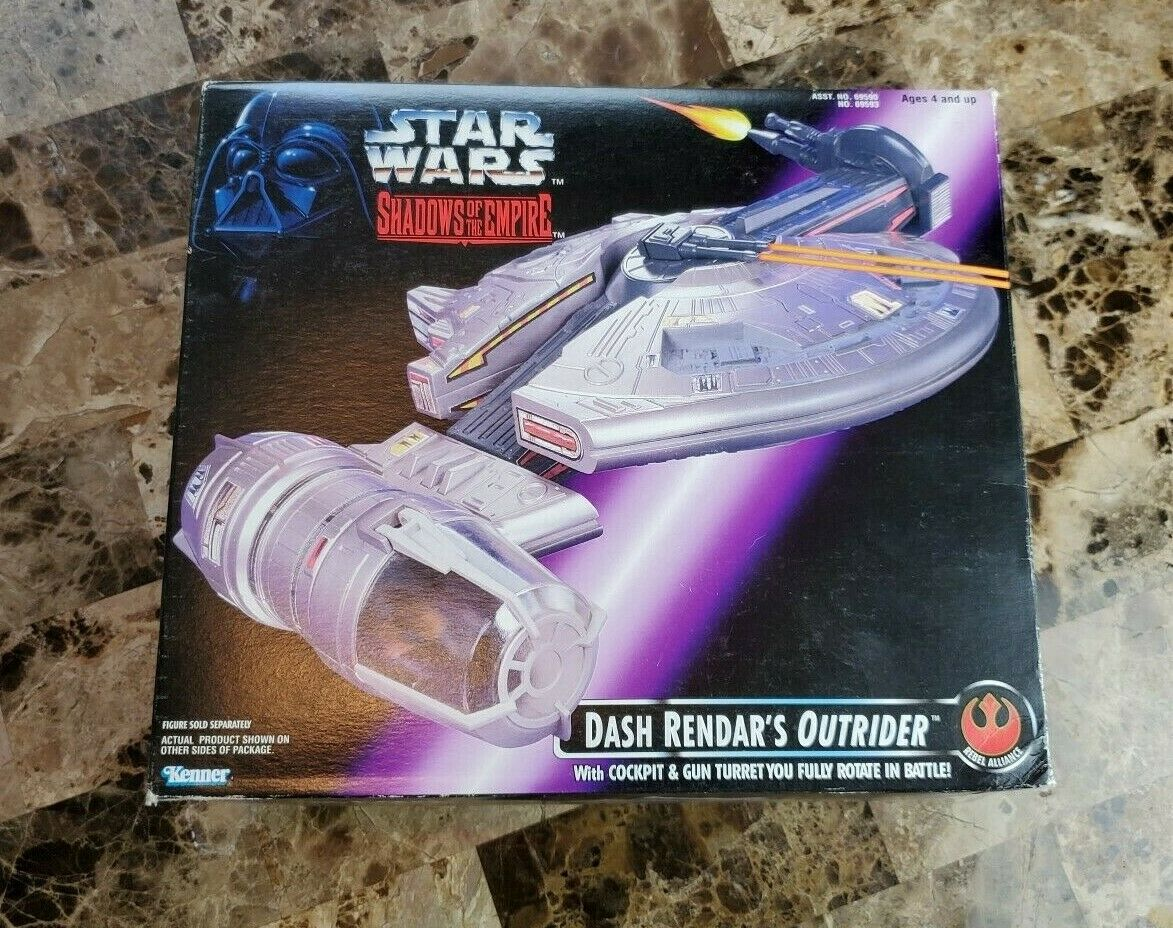 Dash Rendar's Outrider 1996 STAR WARS POTF Power of the Force Shadows Empire