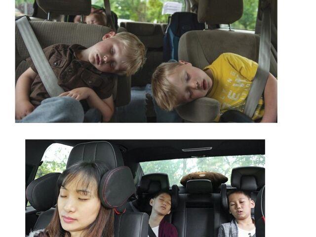 Kinder Erwachsene Auto Sitz Kopfstütze Nacken Kissen für Audi Q3 Kopf wegknickt